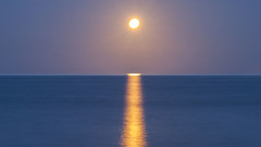 ...moon rise...
