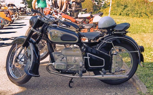 Hofmann Gouverneur Boxer-250ccm, Boxer-Motor, 14,4PS