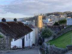 St Ives in Cornwall - evening