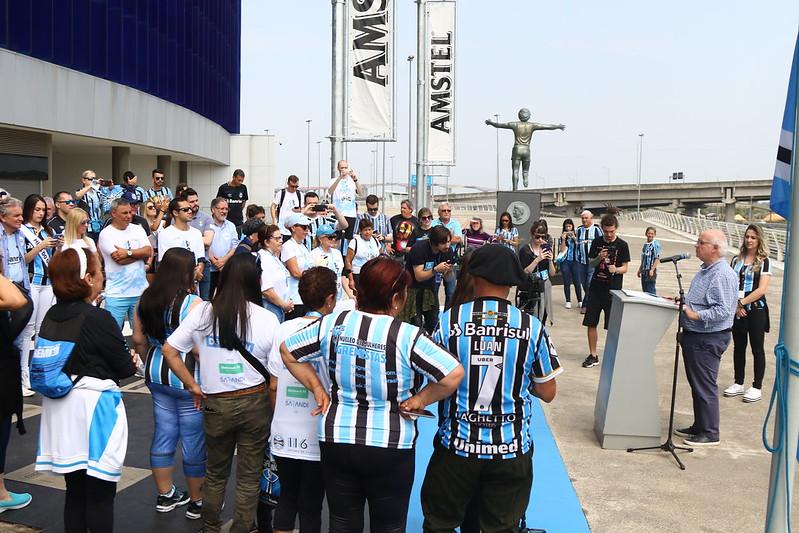 Hasteamento da bandeira do Grêmio e Missa 15/09