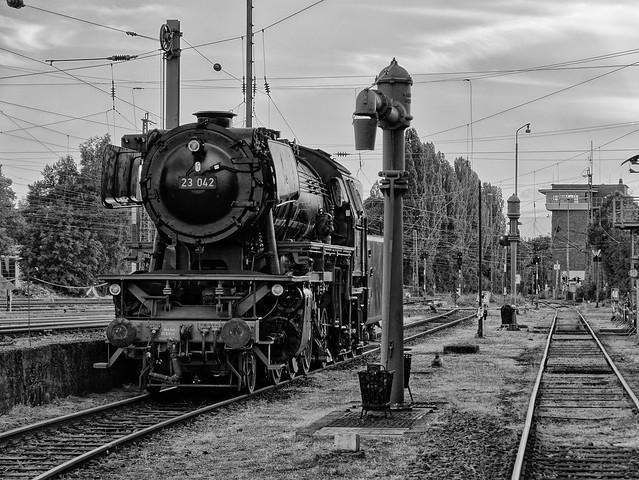 Bahnwelt Kranichstein Fotoabend Blaue Stunde