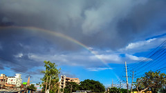 rainbow of the town