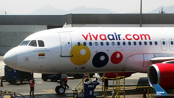 Viva Air A320ceo LIM (RD)