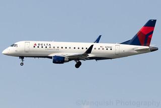 N291SY Skywest Delta Connection ERJ-175 New York LaGuardia