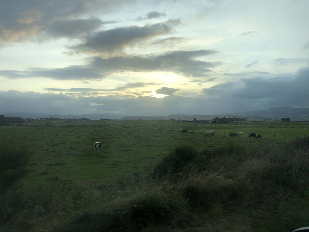 Sunset somewhere north of Inverness