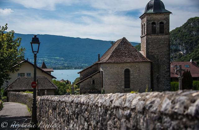 Thones et Lac d'Annecy