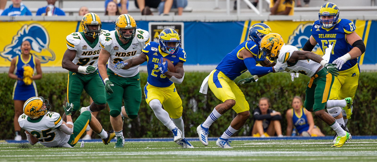 North Dakota State post-game analysis: Blue Hens not quite ready for the best of FCS