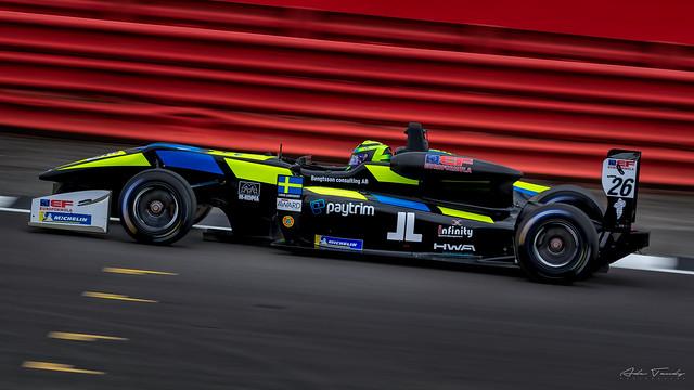 (26) Linus Lundqvist - Double R Racing - Dallara F312