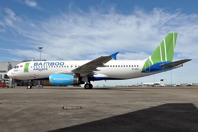 EI-GPU  A32-232  Bamboo Airways