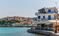 Wave Cafe Bar (Greek Craft Beer on Sale) Kokkari Town - Samos (Panasonic Lumix S1 & Sigma DN 45mm f2.8 Prime) (1 of 1)