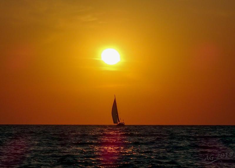 Sunset, no filter
