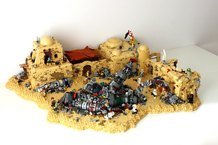 Tatooine Junkyard Depot Skirmish- Star Wars Battlefront 2