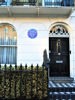 Aneurin Bevan And Jennie Lee Blue Plaque, 23 Cliveden Place, Chelsea - London,