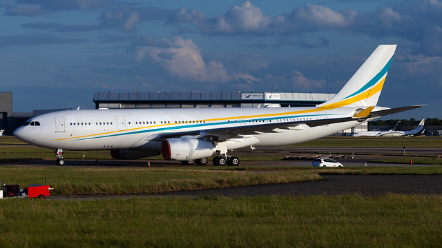 Government of Kazakhstan Airbus A330-243 UP-A3001