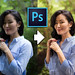 Photoshop, before-after