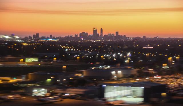 Adelaide City Sunset