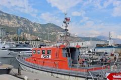 Monaco Police Boat