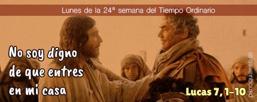 Lucas 7, 1-10 - ParroquiaWeb