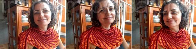Blog Tricô em Prosa - Xale Nymphalidea