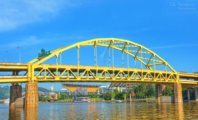 Fort Duquesne Bridge - Pittsburgh, Pennsylvania