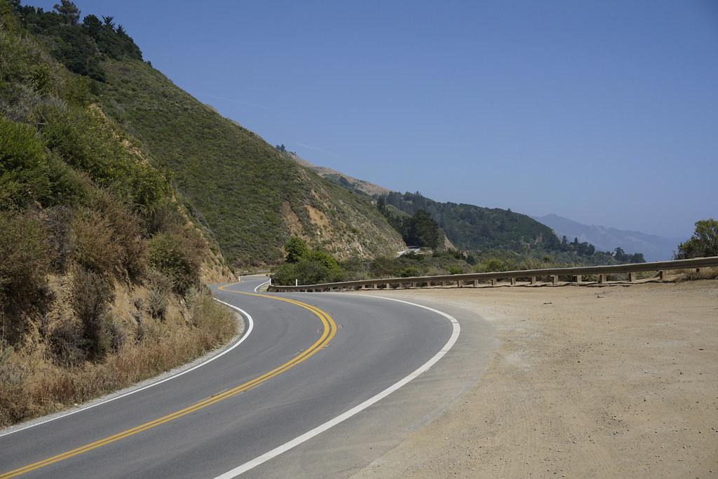 California State Highway 1 Road