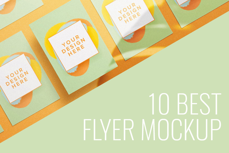 10 Best Flyer Mockup
