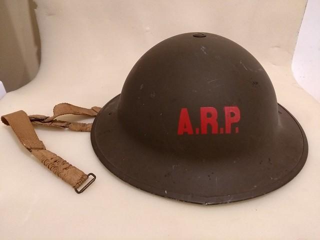 Brodie MK II helmet - A.R.P. Sackville, NB 48739701861_b9092a20f5_z