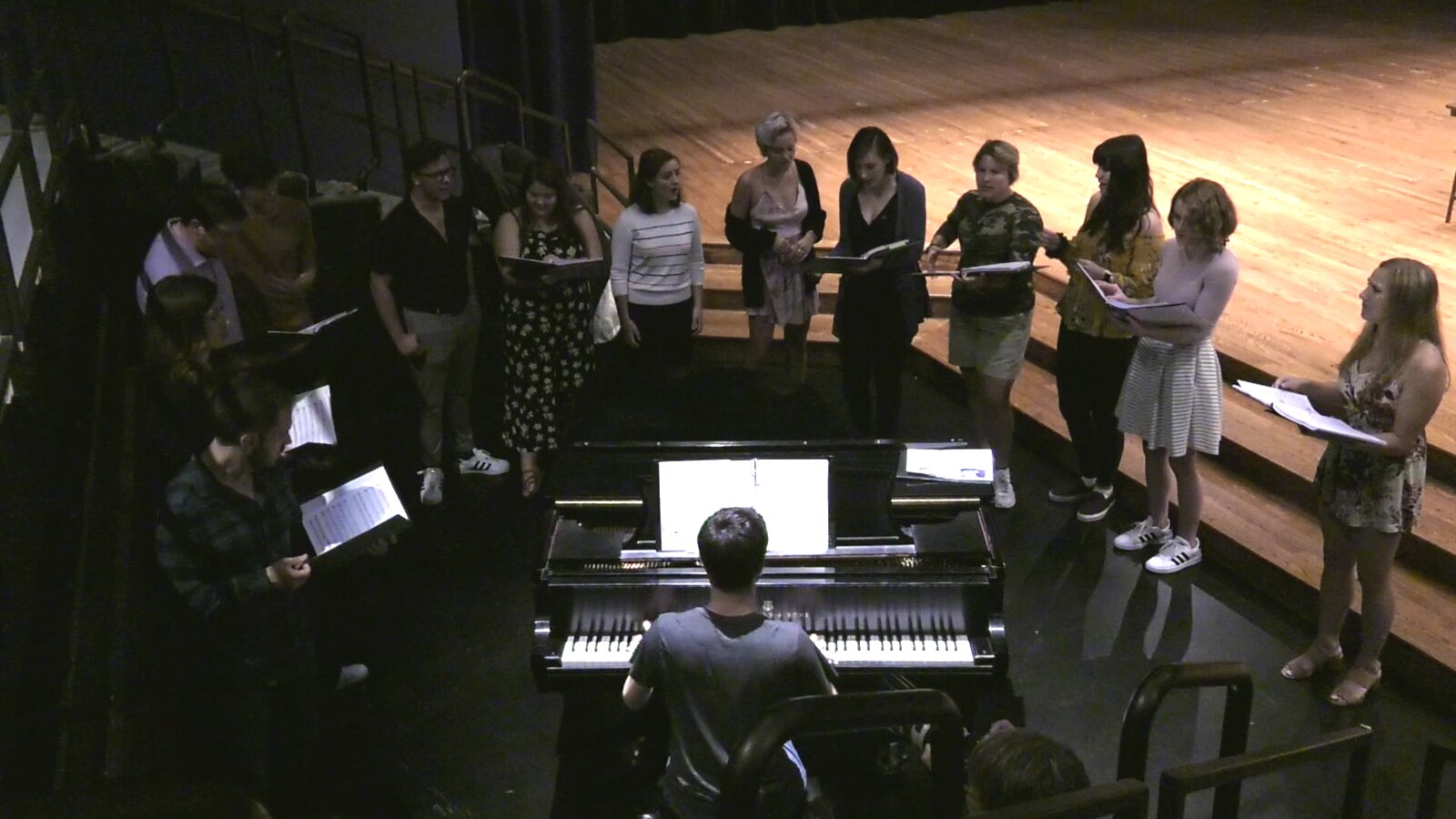 Broadway Musical Unites College And High School Students