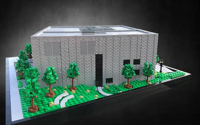Goel Center: Side