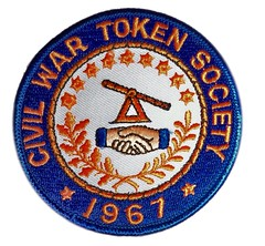 Civil War Token Society patch