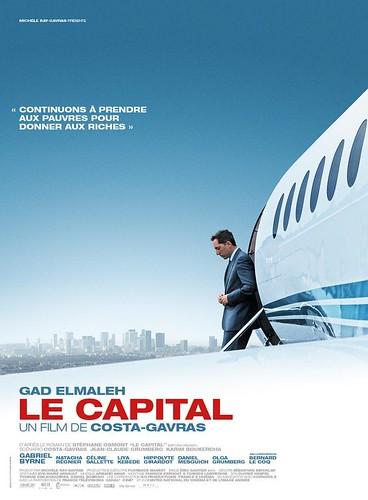 Cartel de Le Capital. Costa-Gavras, 2012