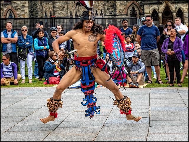 Mexican Dancer on Parliament Hill