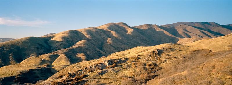Rolling hills outside Salt Lake City