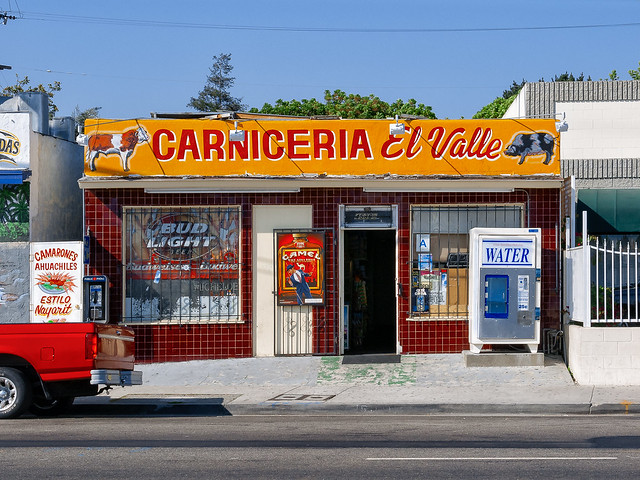 carniceria el valle. los angeles, ca, 2004.