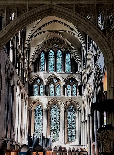 Salisbury Cathedral , England  , Beauty of Light