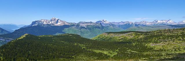 The Granite Park chalet (far right)