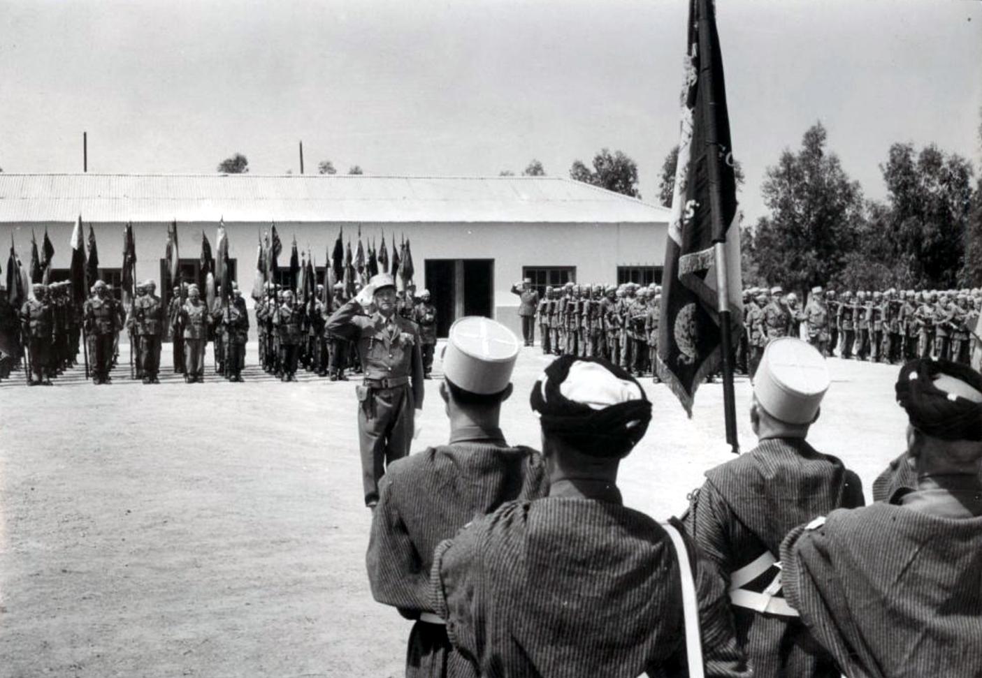 12 mai 1956 - Dissolution des Goumiers & integration aux FAR 48740617888_1e9b3e2423_o