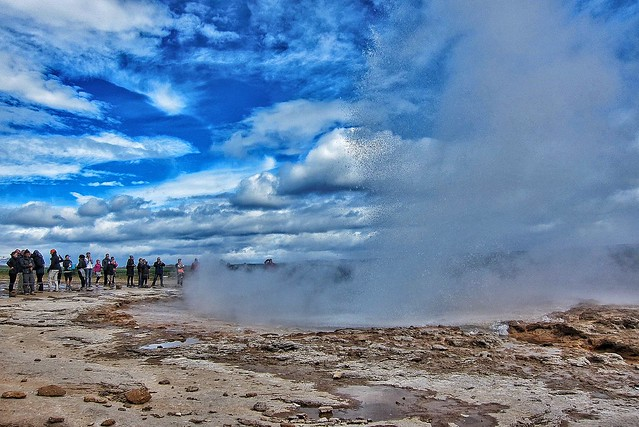 Iceland - Strokkur | The Mighty Geyser | Waiting for the Climax
