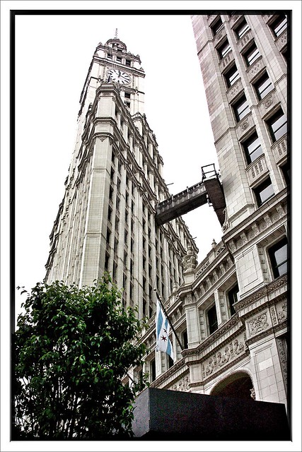 Chicago II ~ Wrigley Building (Chewing Gum Industry) ~ On a Misty Day ~ Historic