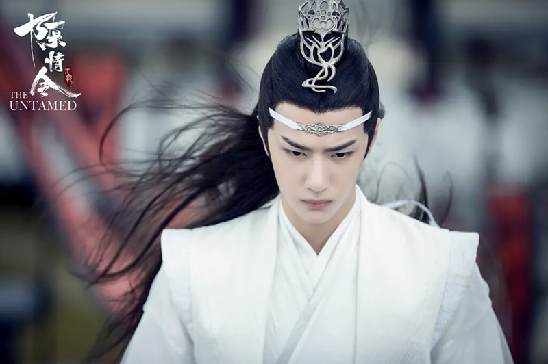 Lan Zhan flying hair