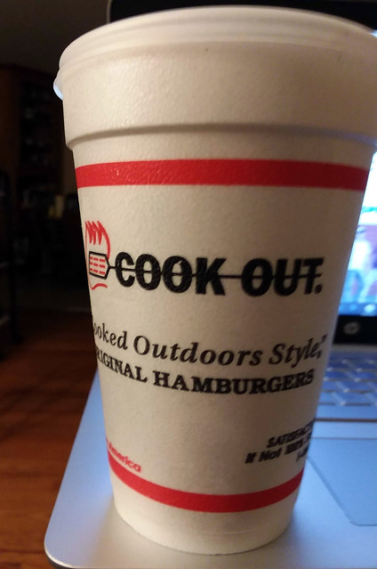 Cook-Out Reese's Shake.