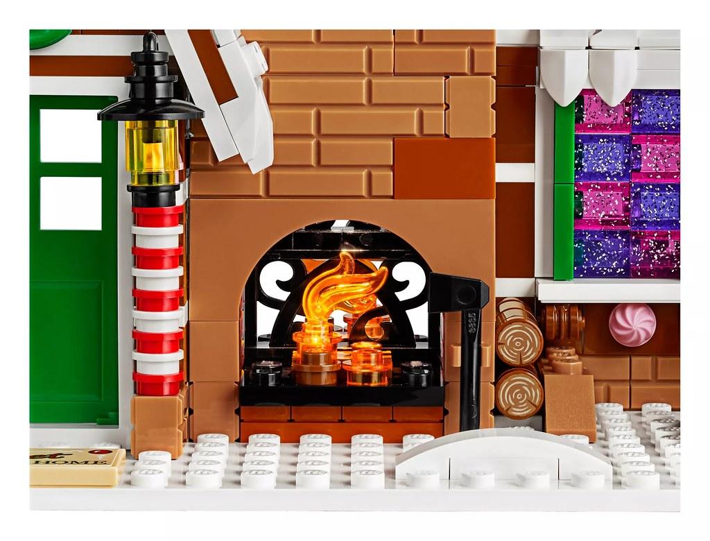 由裡甜到外,可愛的薑餅人一家與超「美味」內裝! LEGO 10267 創意系列【薑餅屋】Gingerbread House