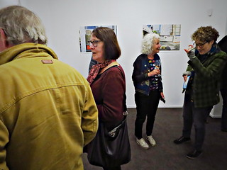 Photospace Gallery, 37 Courtenay Place, Wellington, New Zealand - 'The Long View' - Exhibition for Photival by Mary Macpherson -Alan Knowles, Jo Stafford, Mary Macpherson, Carolyn Macquarrie 190502 069