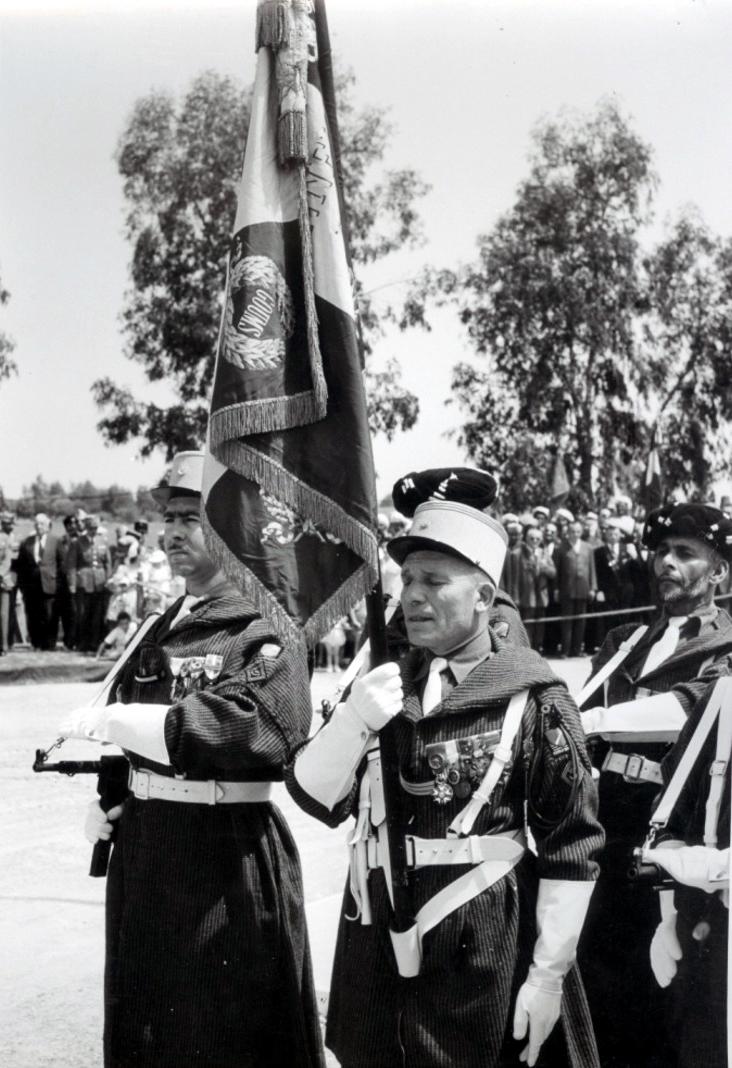 12 mai 1956 - Dissolution des Goumiers & integration aux FAR 48740946116_7286e78589_o