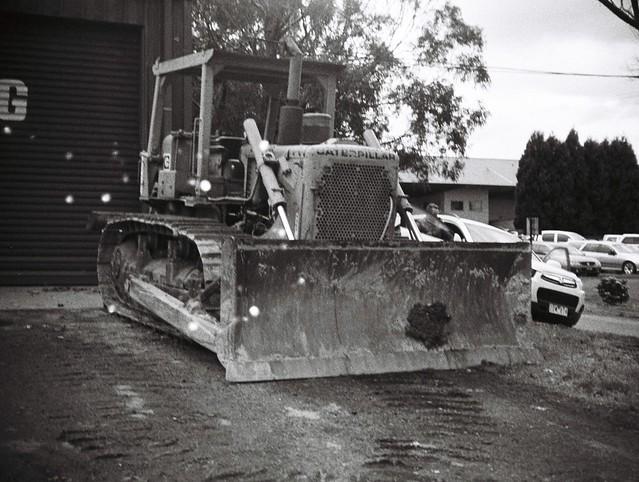 Caterpillar bulldozer
