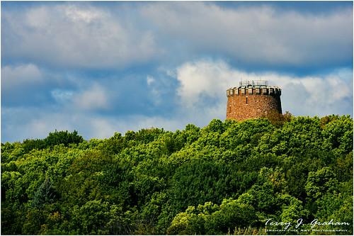 Levis Tower on Ile St. Helene