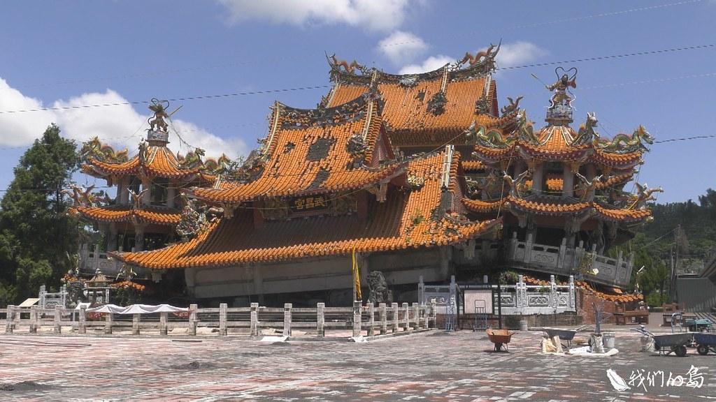 武昌宮成為唯一由民間保存的九二一遺跡。