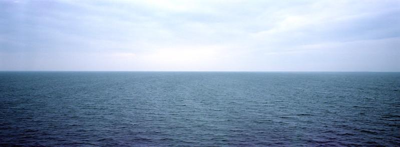 The vignetting sea