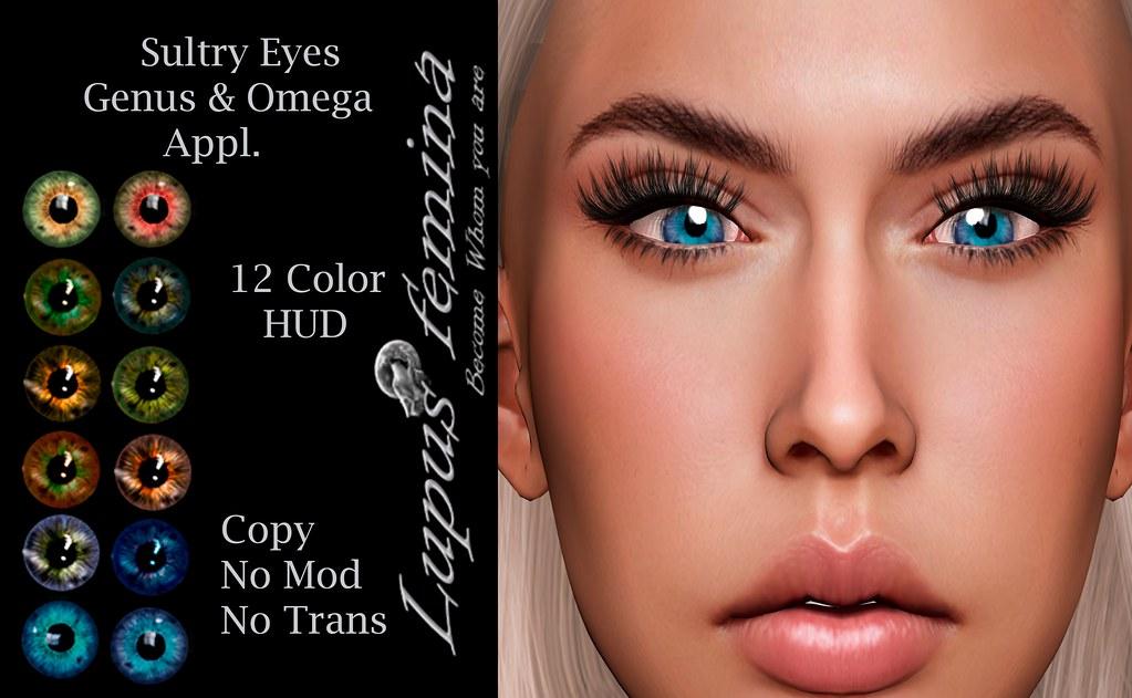 """""""Lupus Femina"""" Sultry Eyes – Genus & Omega"""