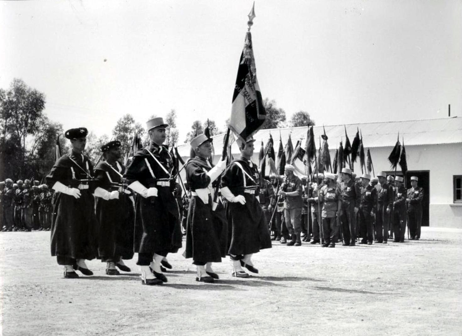 12 mai 1956 - Dissolution des Goumiers & integration aux FAR 48741130832_89388e73ca_o